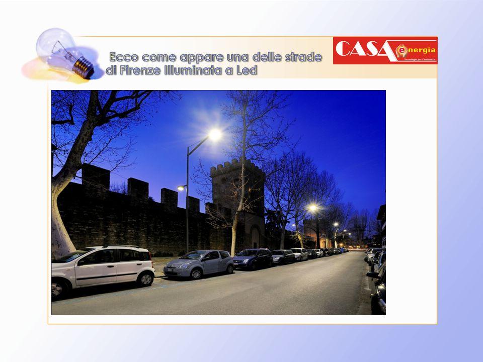 Ecco come appare una delle strade di Firenze Illuminata a Led