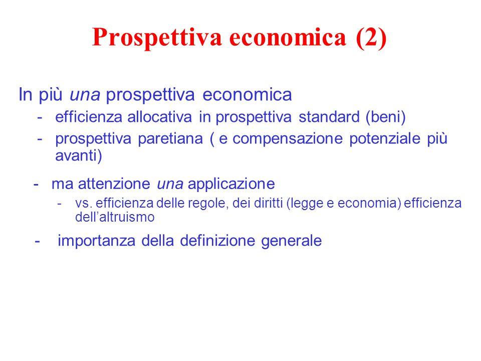 Prospettiva economica (2)
