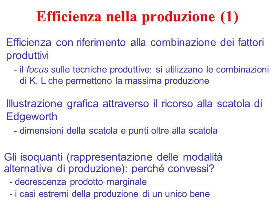 Efficienza nella produzione (1)