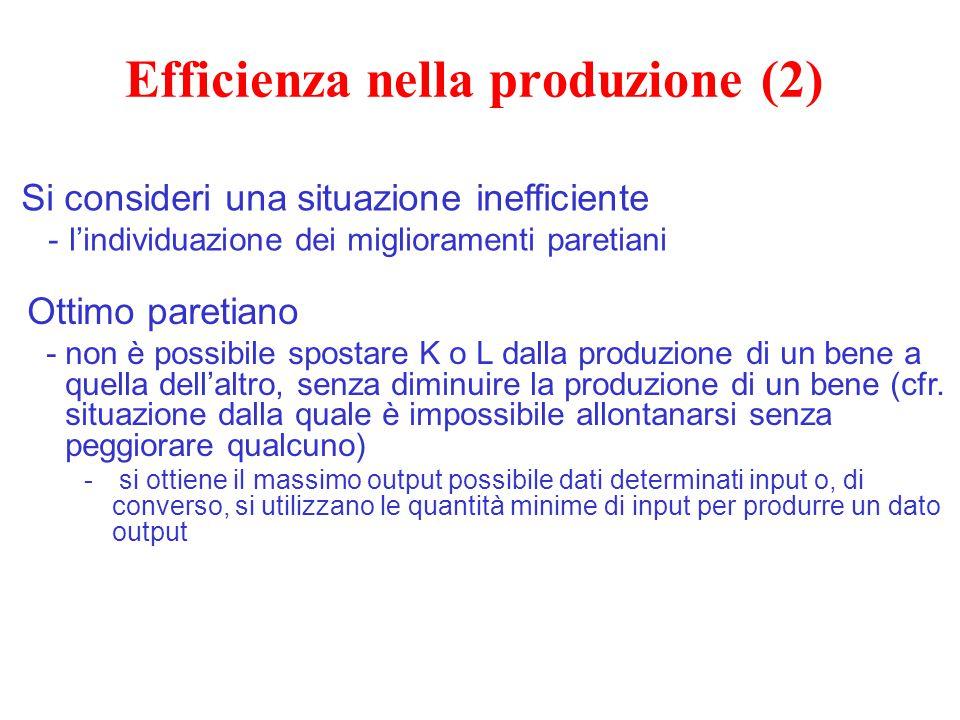 Efficienza nella produzione (2)