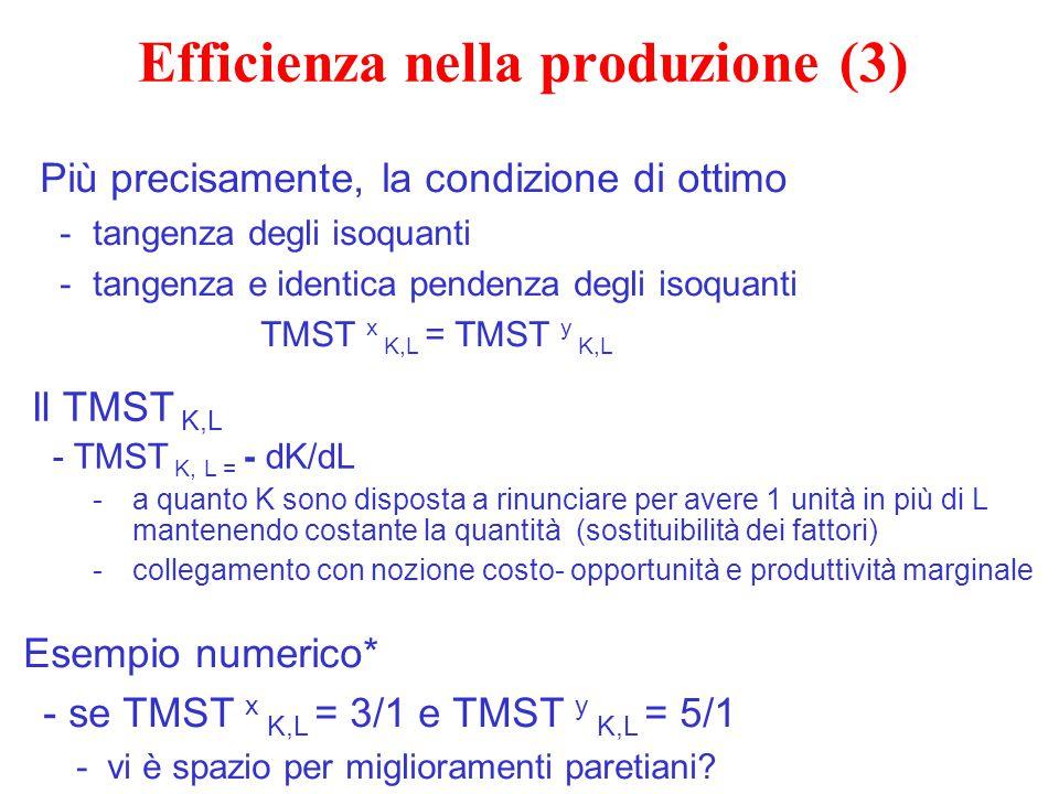 Efficienza nella produzione (3)