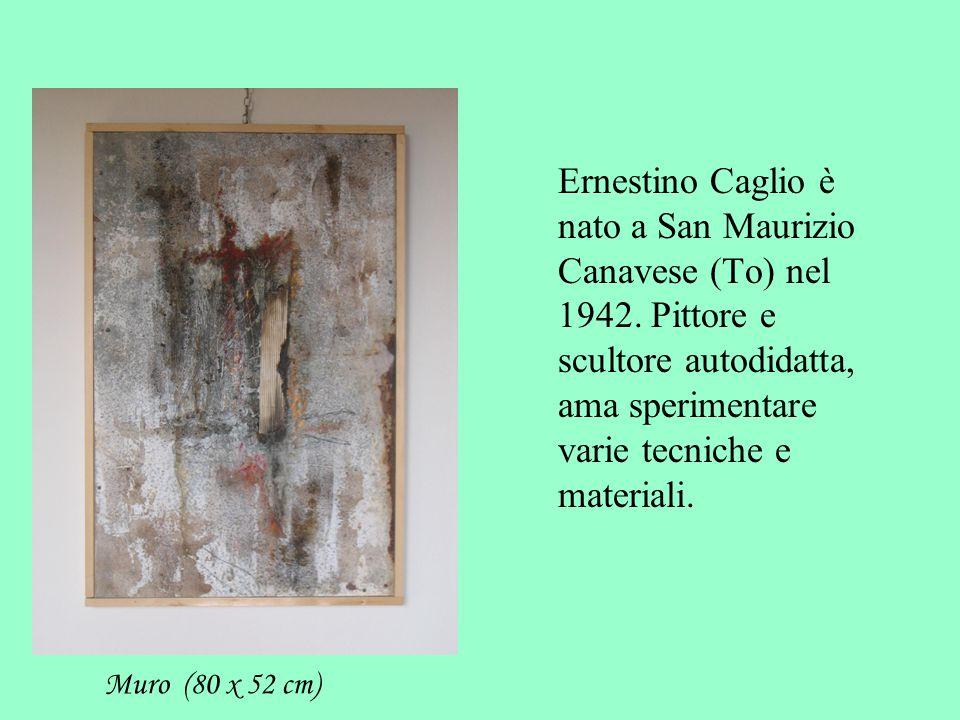 Ernestino Caglio è nato a San Maurizio Canavese (To) nel 1942