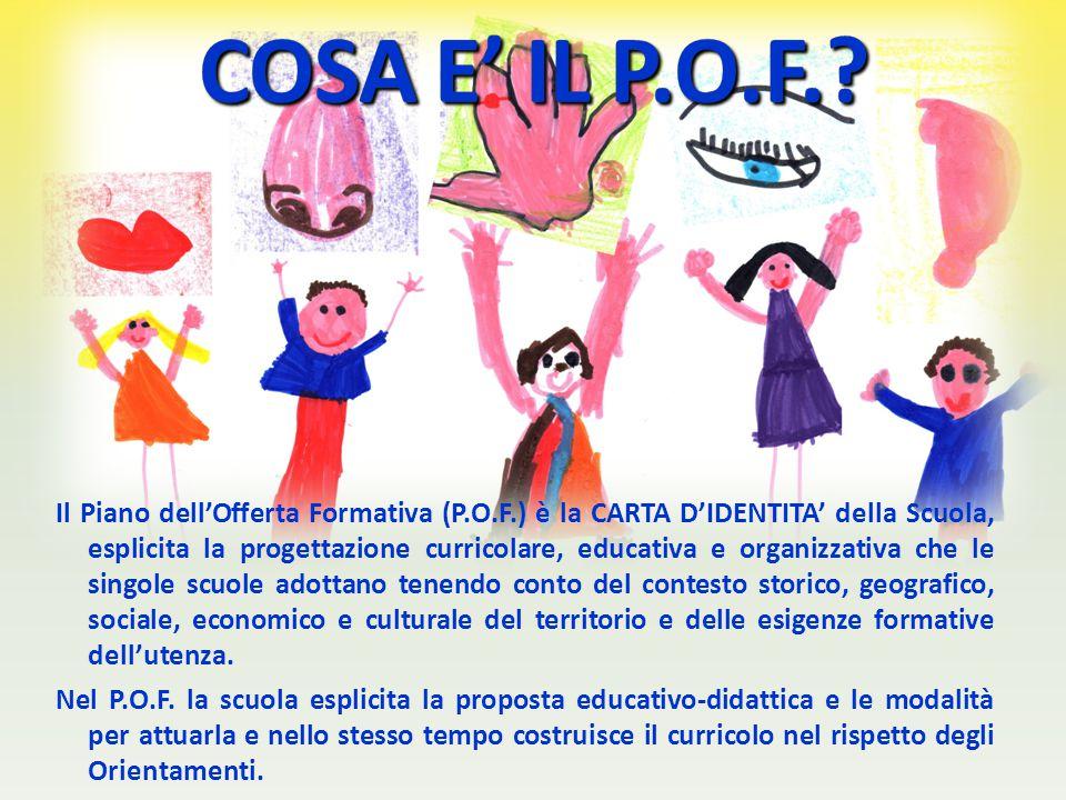 COSA E' IL P.O.F.