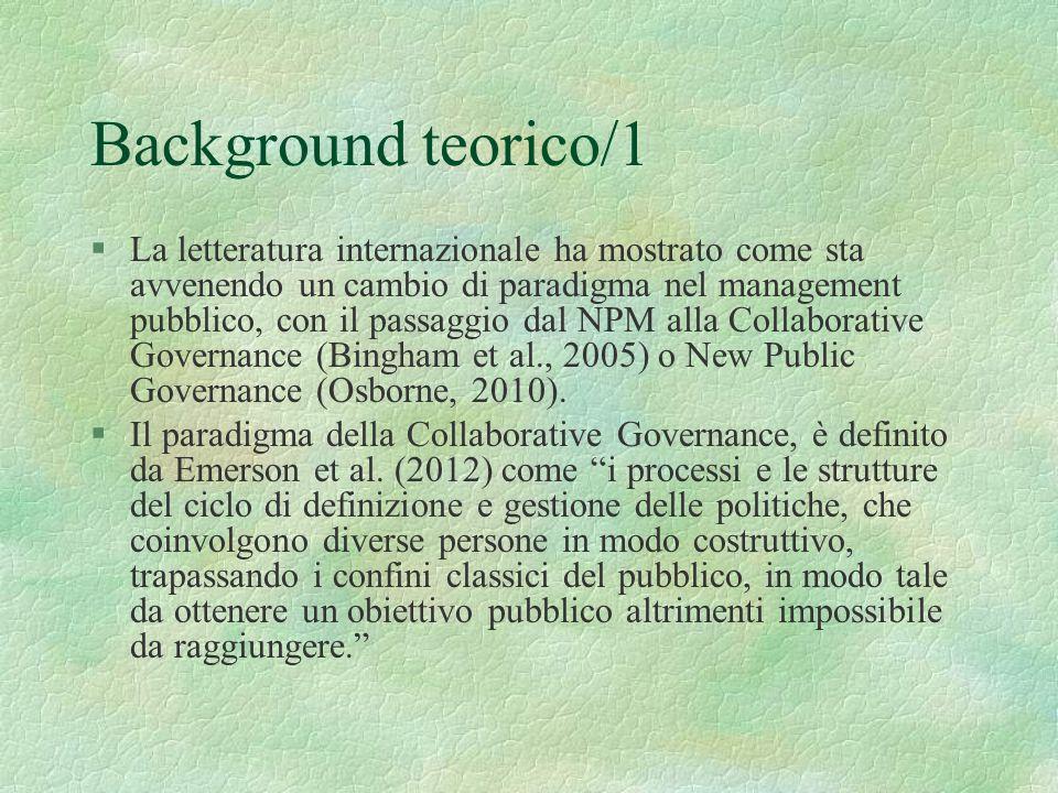 Background teorico/1