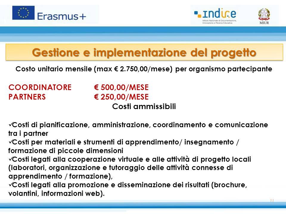 Gestione e implementazione del progetto