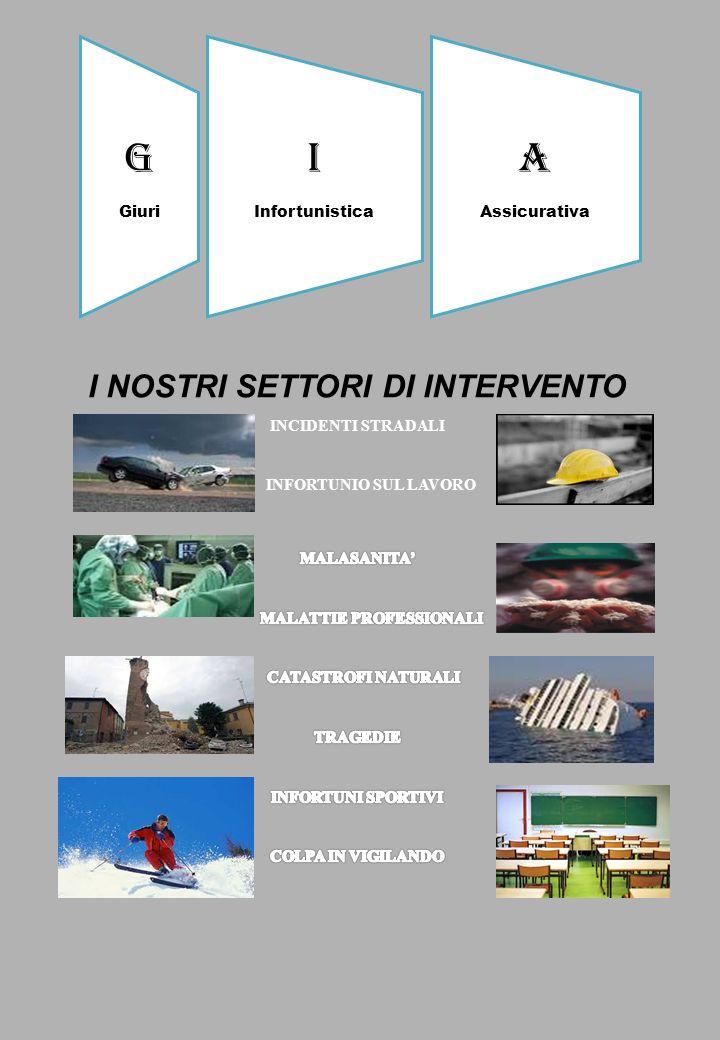 I NOSTRI SETTORI DI INTERVENTO MALATTIE PROFESSIONALI
