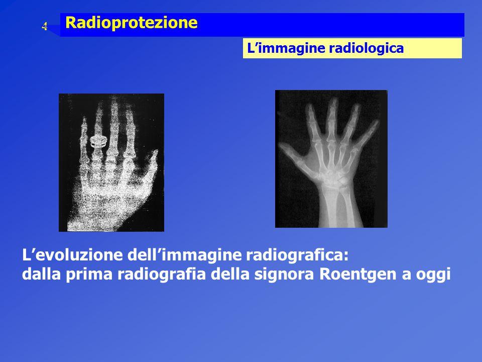 L'evoluzione dell'immagine radiografica: