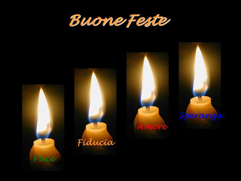 Buone Feste Speranza Amore Fiducia Pace