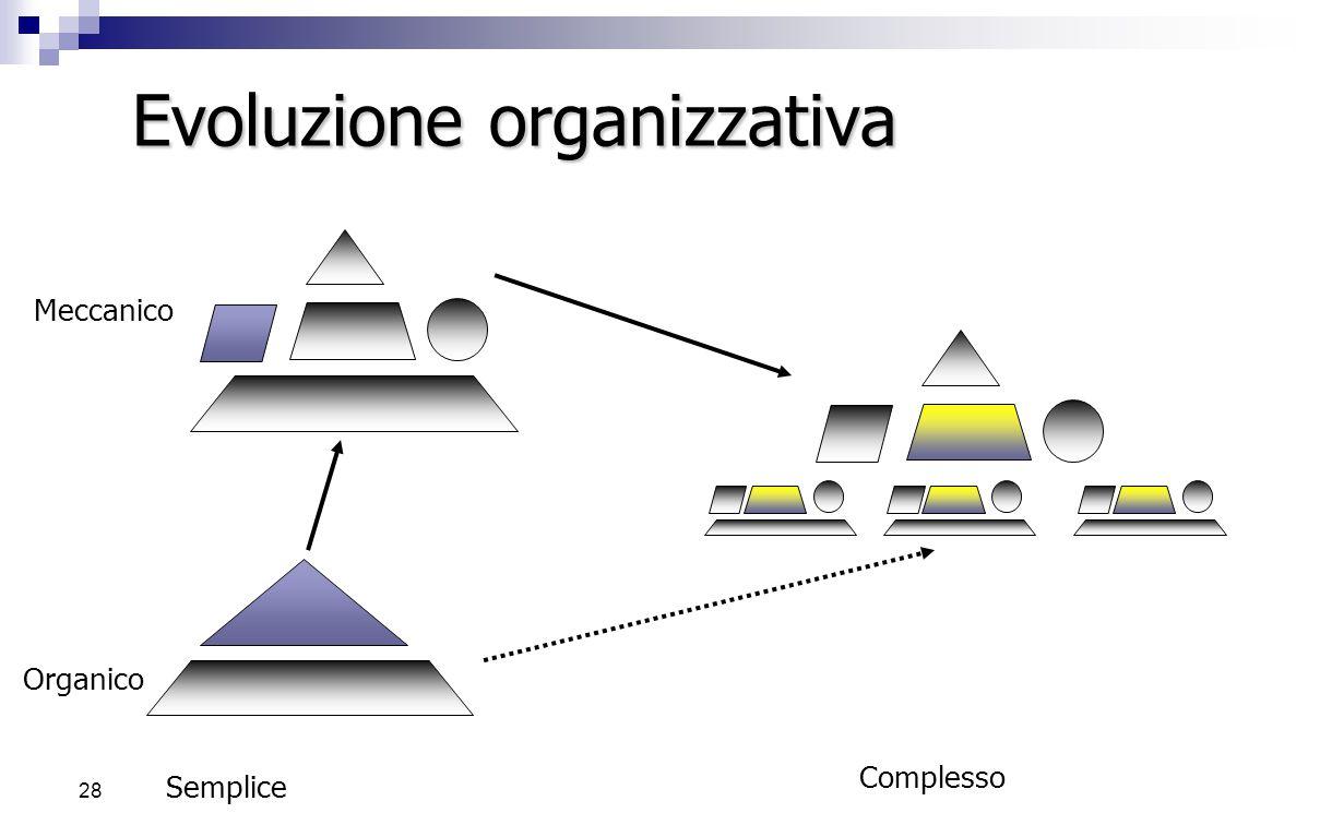 Evoluzione organizzativa