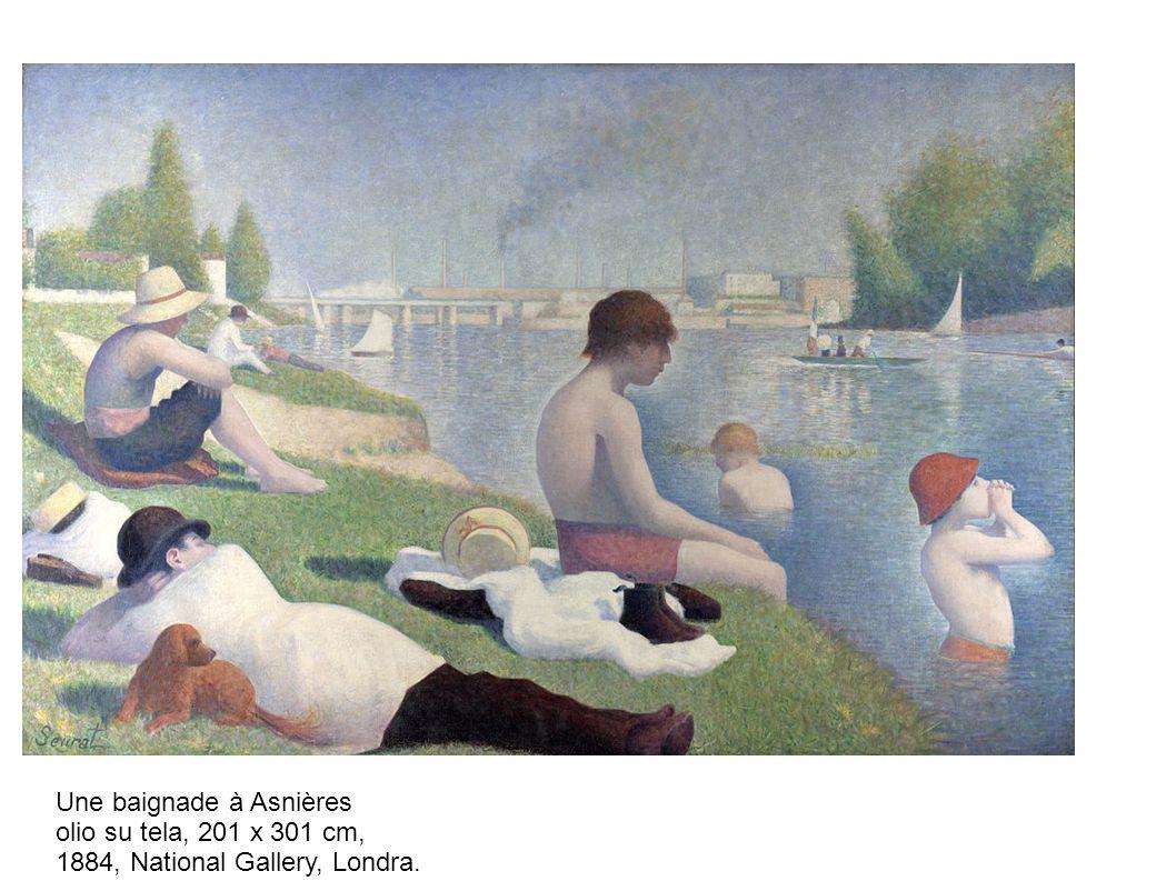 Une baignade à Asnières
