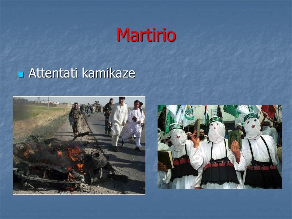 Martirio Attentati kamikaze