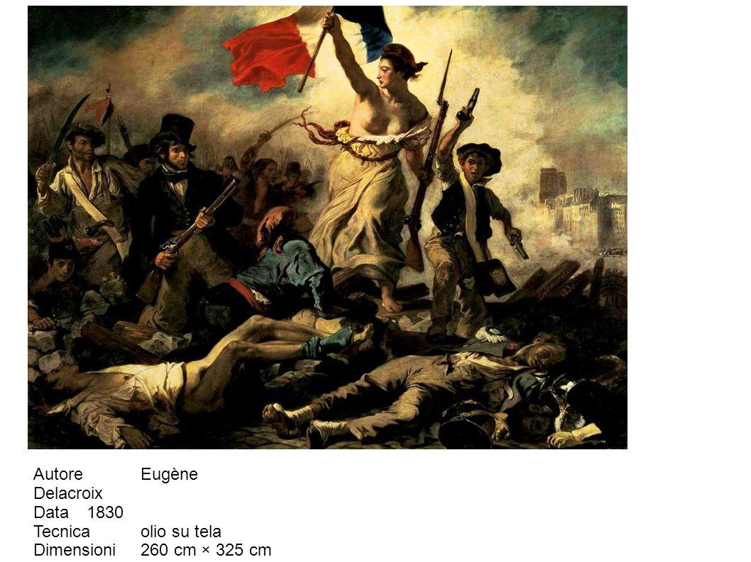 Autore Eugène Delacroix