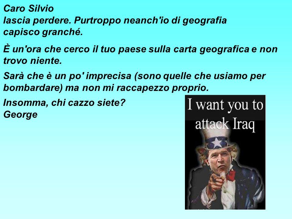 Caro Silvio lascia perdere