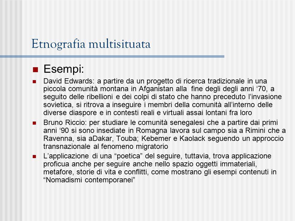 Etnografia multisituata