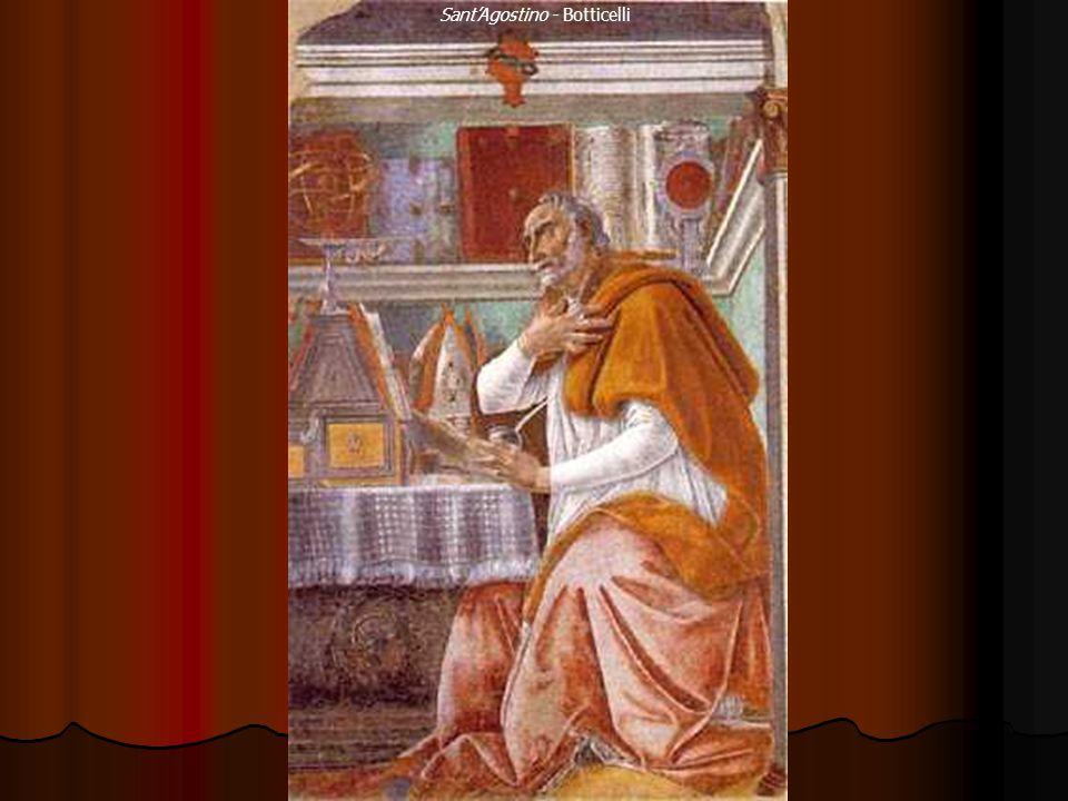 Sant'Agostino - Botticelli