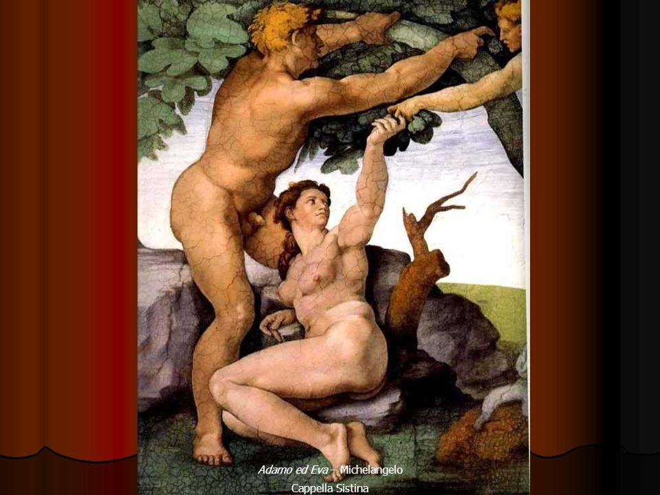 Adamo ed Eva – Michelangelo