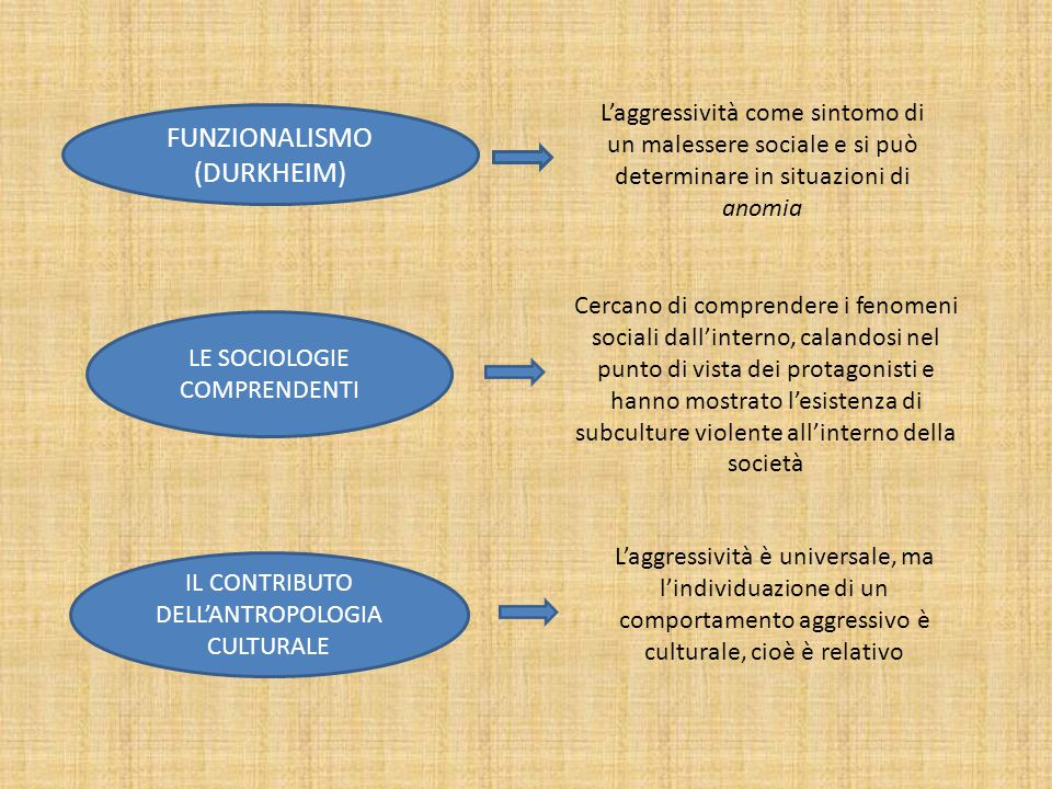 FUNZIONALISMO (DURKHEIM)