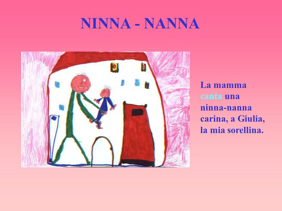 NINNA - NANNA La mamma canta una ninna-nanna carina, a Giulia, la mia sorellina.