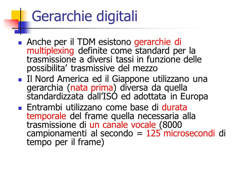 Gerarchie digitali
