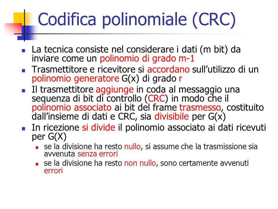 Codifica polinomiale (CRC)