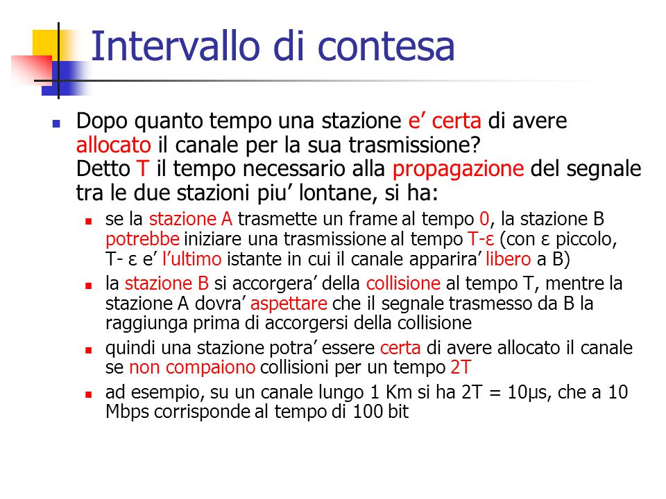Intervallo di contesa