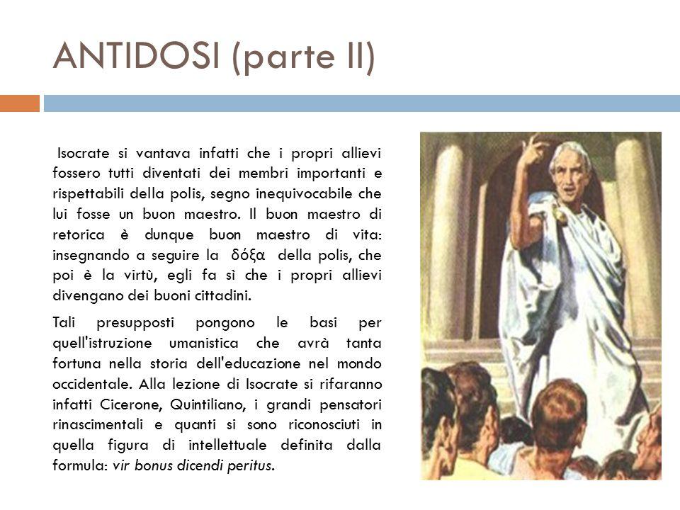 ANTIDOSI (parte II)
