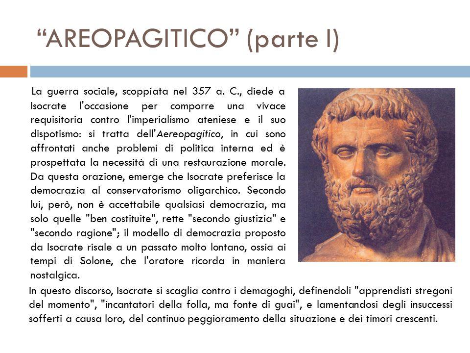 AREOPAGITICO (parte I)