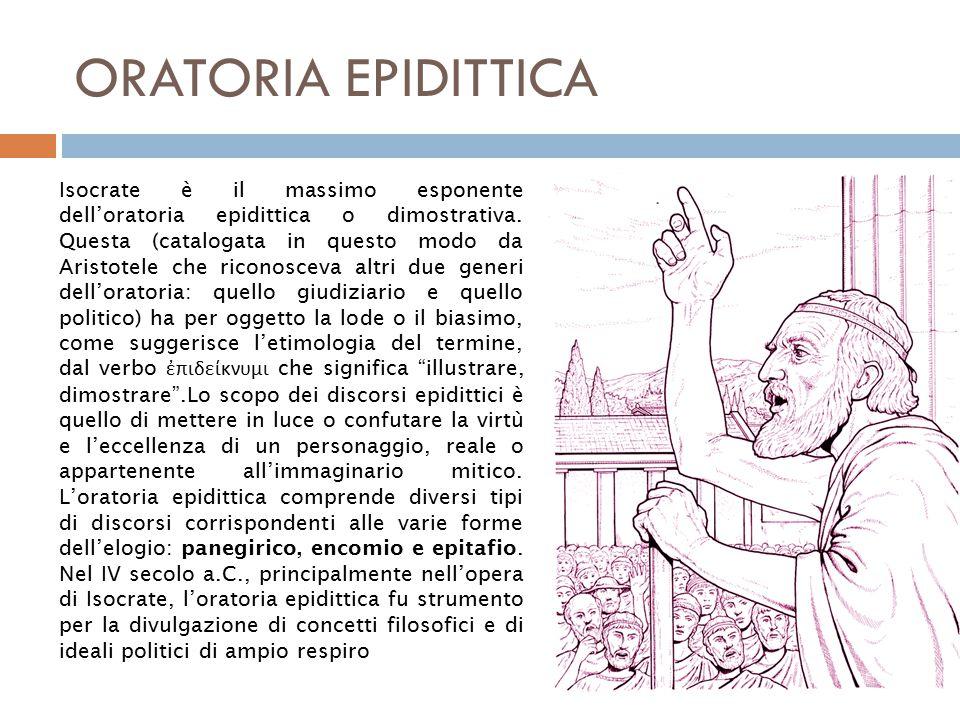 ORATORIA EPIDITTICA
