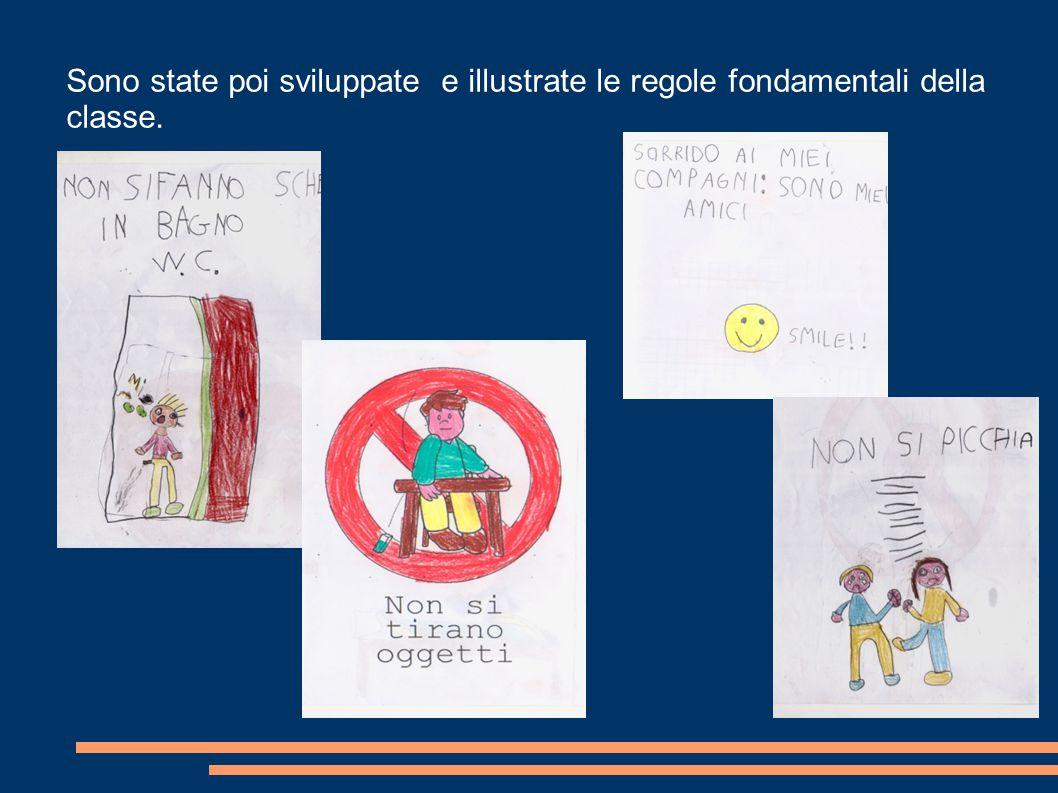 Sono state poi sviluppate e illustrate le regole fondamentali della classe.