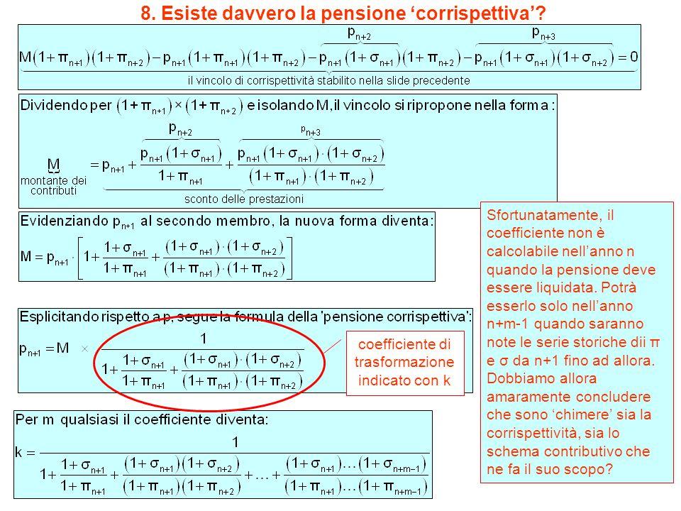 8. Esiste davvero la pensione 'corrispettiva'