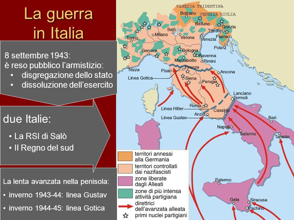La guerra in Italia due Italie: 8 settembre 1943: