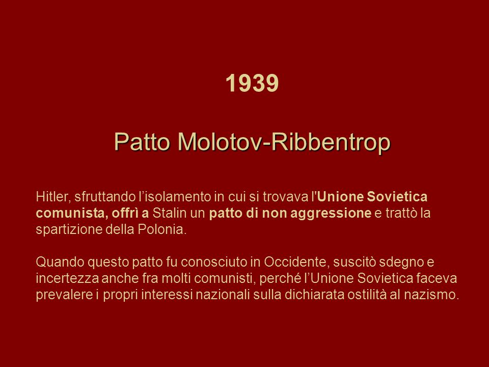Patto Molotov-Ribbentrop