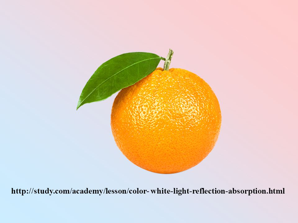 http://study.com/academy/lesson/color- white-light-reflection-absorption.html