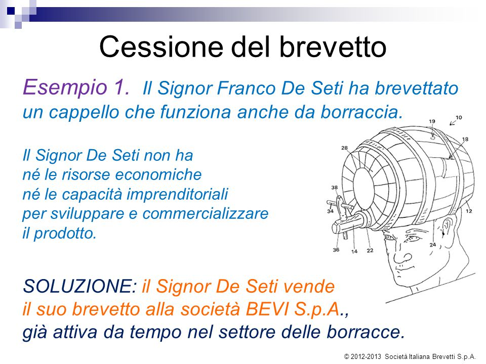 © 2012-2013 Società Italiana Brevetti S.p.A.