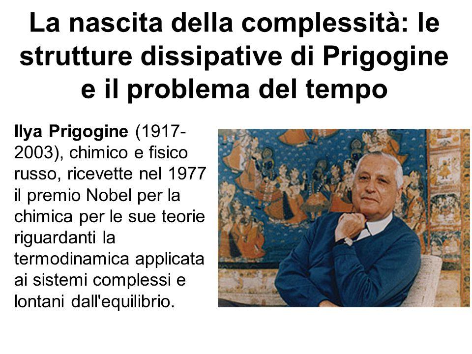 La nascita della complessità: le strutture dissipative di Prigogine e il problema del tempo