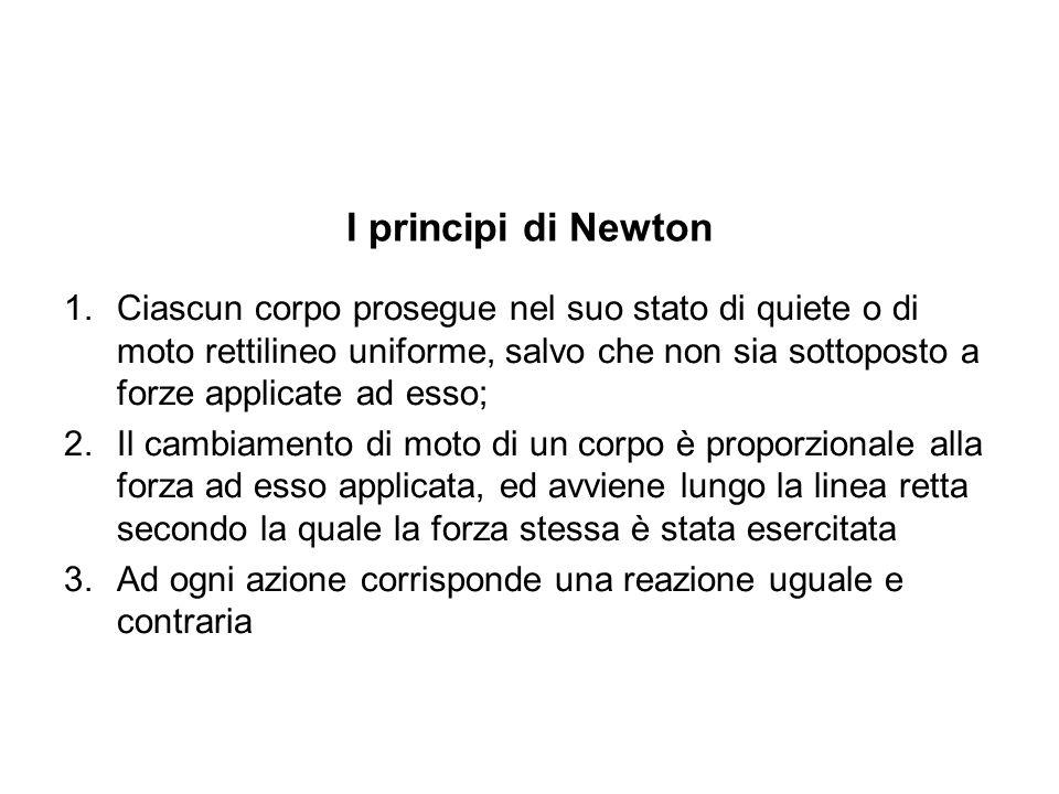 I principi di Newton
