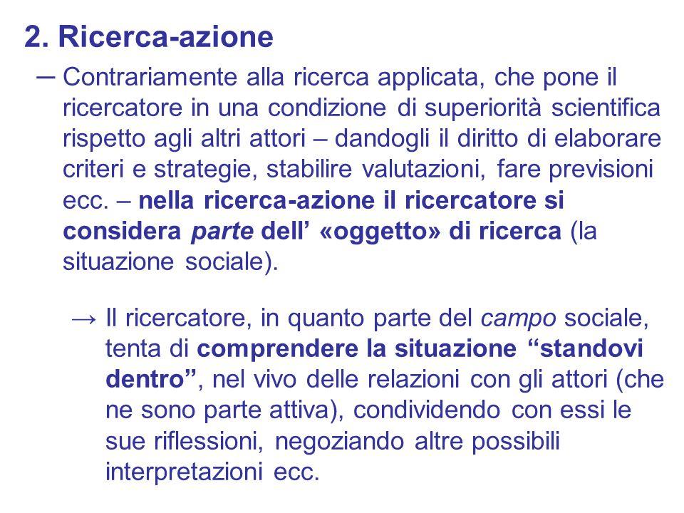 2. Ricerca-azione