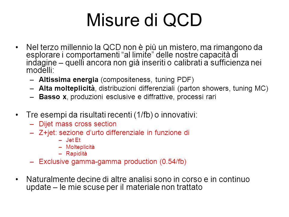 Misure di QCD