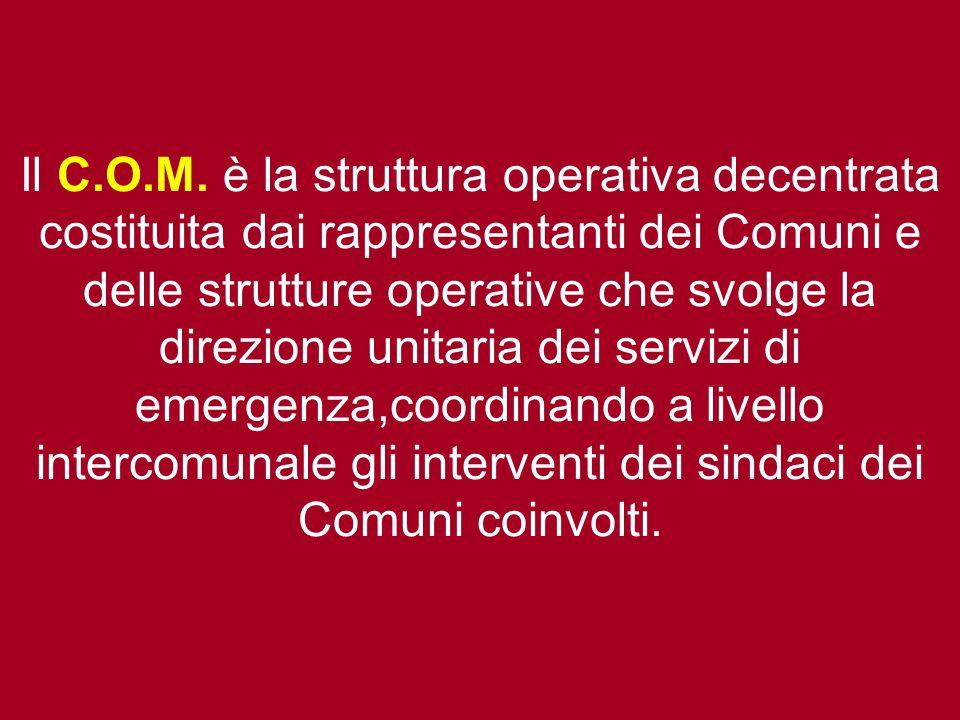 Il C.O.M.