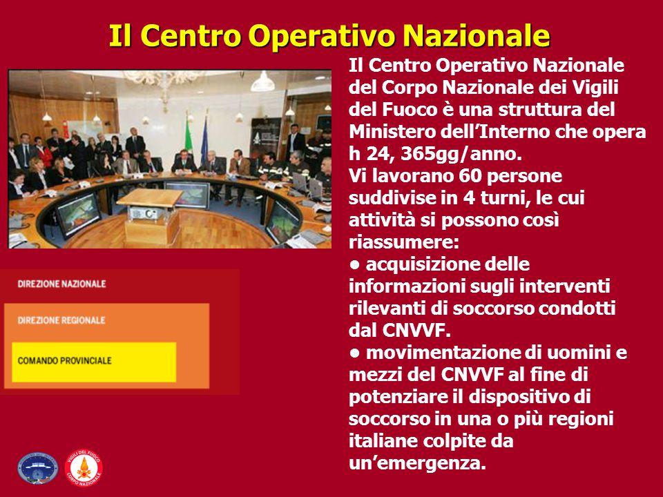 Il Centro Operativo Nazionale