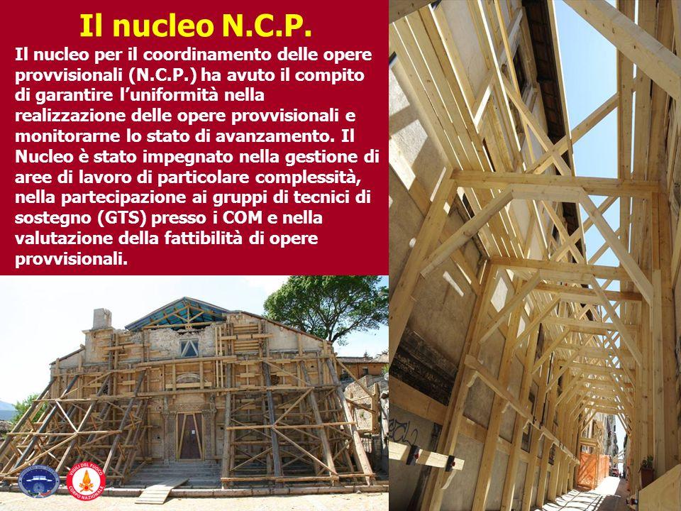 Il nucleo N.C.P.