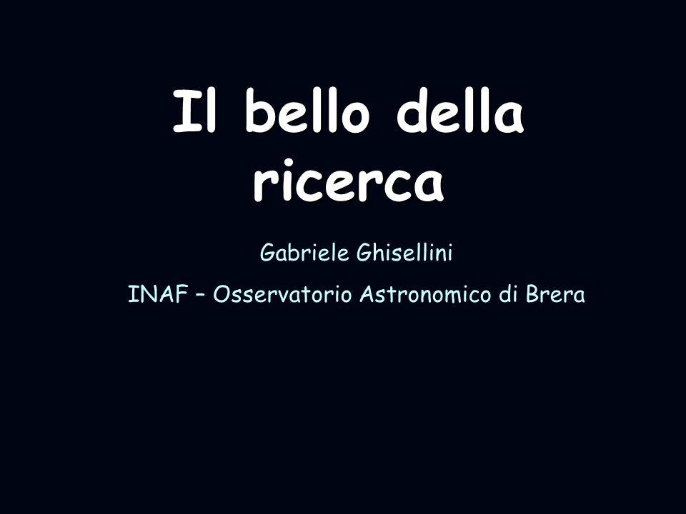 INAF – Osservatorio Astronomico di Brera