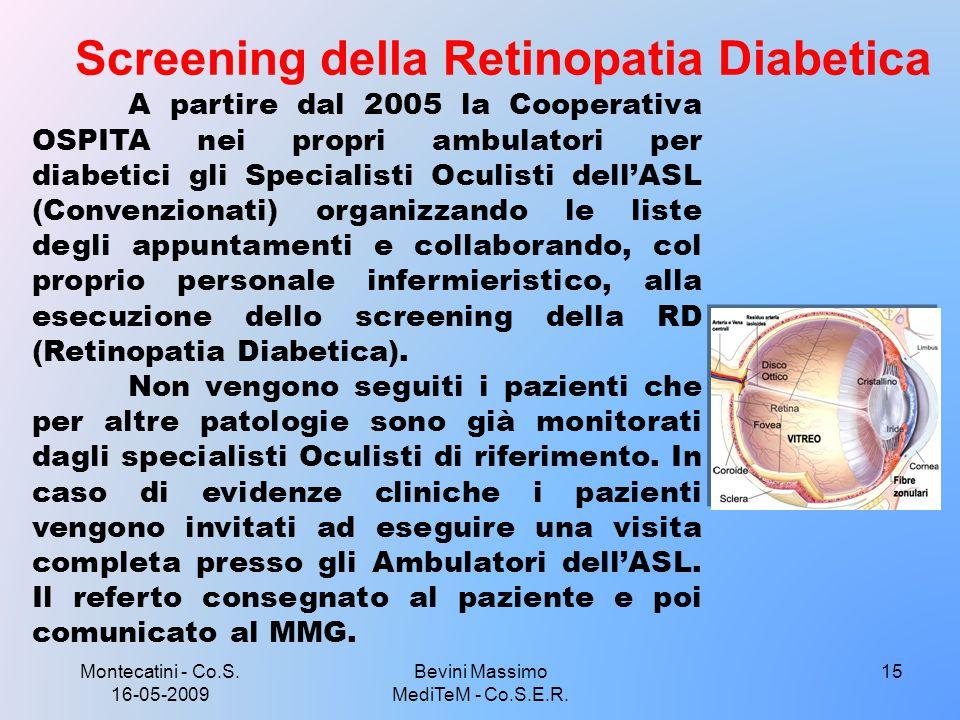 Screening della Retinopatia Diabetica