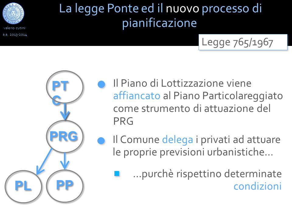 La legge Ponte ed il nuovo processo di pianificazione