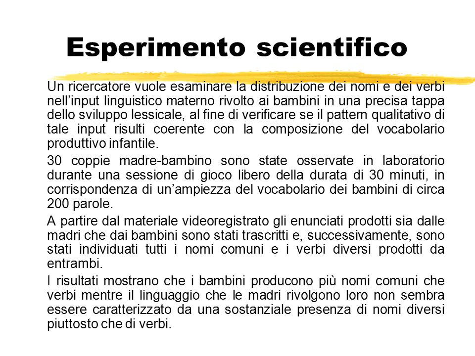 Esperimento scientifico