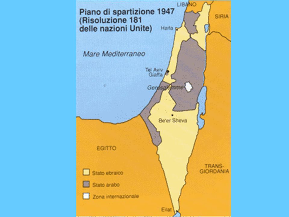 STORIA DI ISRAELE 1947