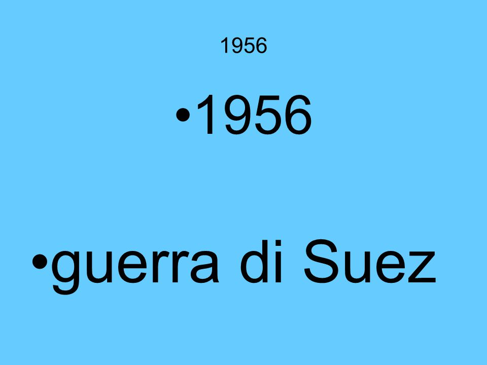 1956 1956 guerra di Suez IL CANALE DI SUEZ VITALE PER ISRAELE