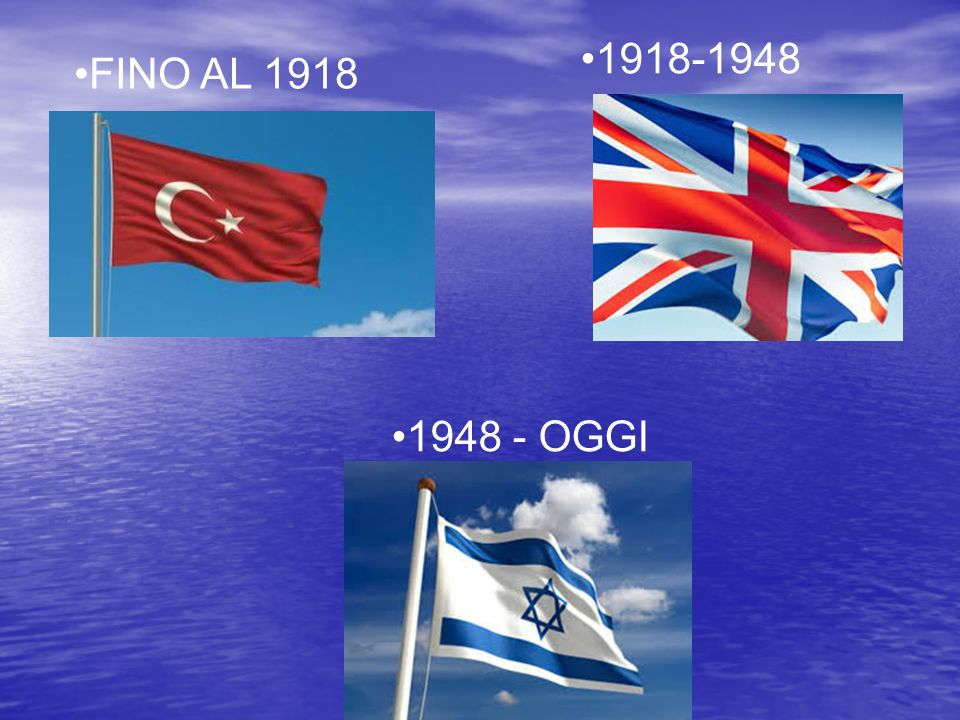 1918-1948 FINO AL 1918 1948 - OGGI