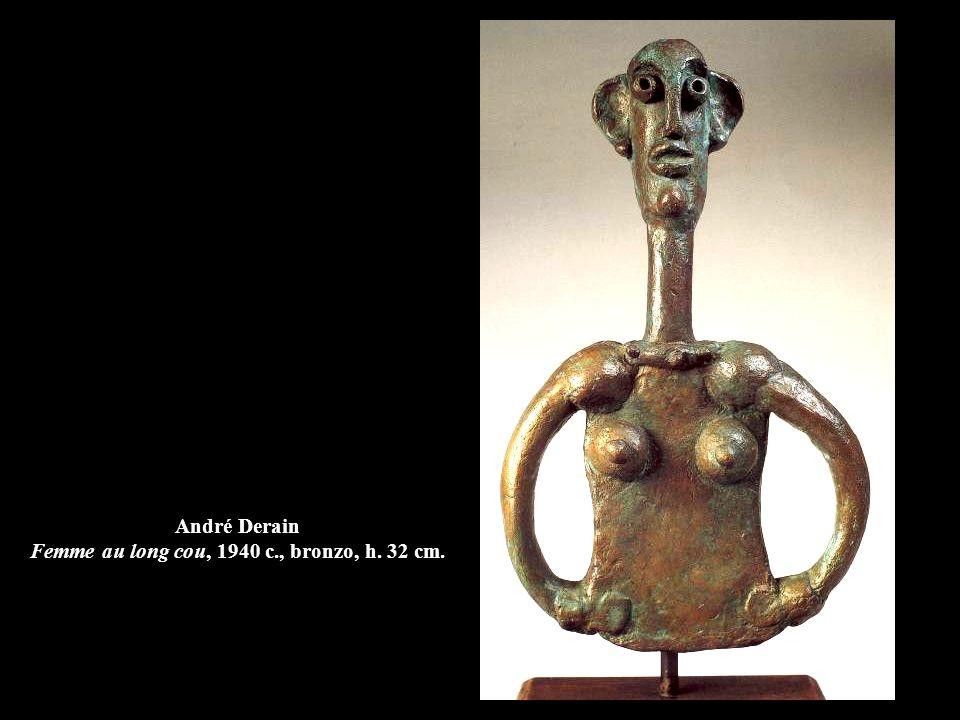 André Derain Femme au long cou, 1940 c., bronzo, h. 32 cm.