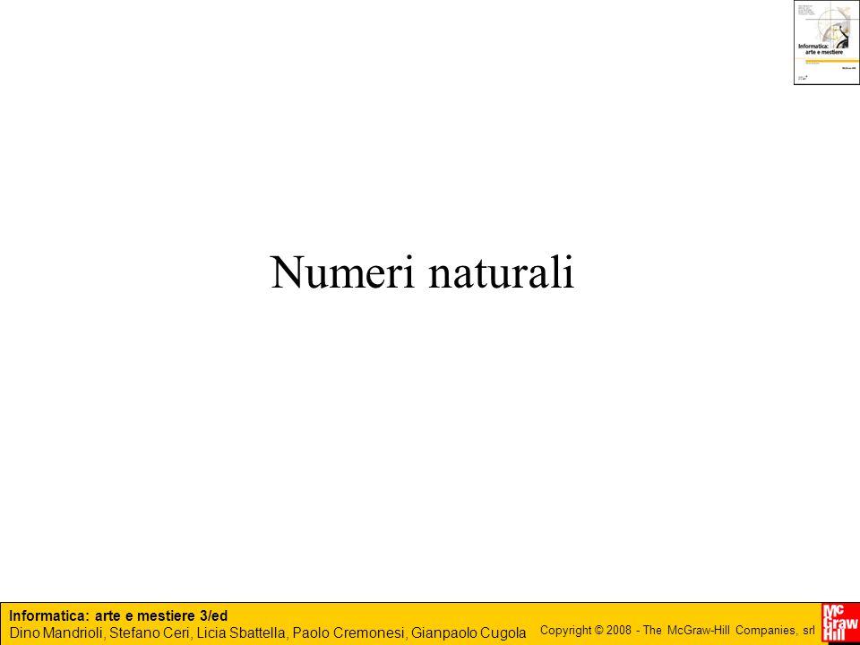 Numeri naturali